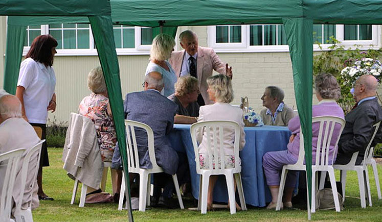 Guests at the party