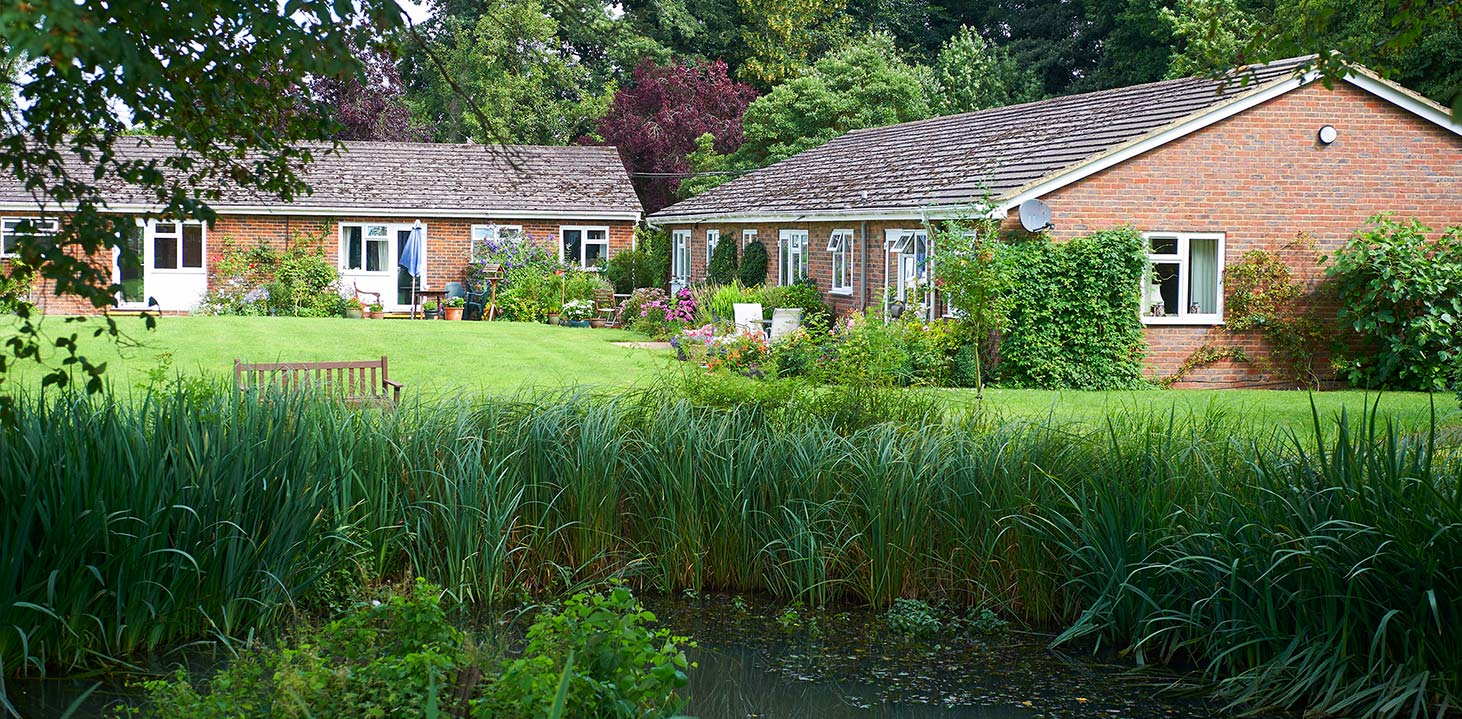 Cottages in the grounds